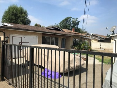 El Monte Single Family Home For Sale: 5349 Cogswell Road