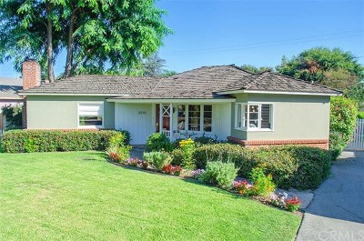 Pasadena Single Family Home For Sale: 3576 Thorndale Road