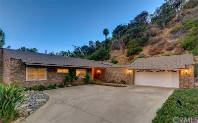 Arcadia Single Family Home For Sale: 2236 Canyon Road