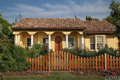 El Monte Single Family Home For Sale: 5348 Hammill Road