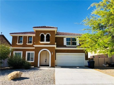 Victorville Single Family Home For Sale: 14416 Black Mountain Place