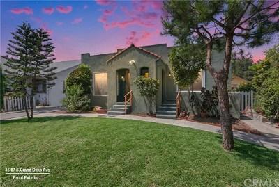 Pasadena Multi Family Home For Sale: 83 S Grand Oaks Avenue