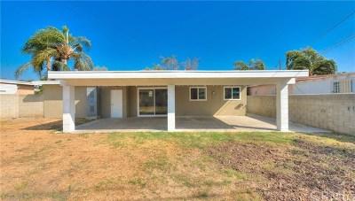 La Puente Single Family Home For Sale: 821 Millbury Avenue