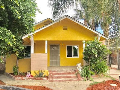 Pomona Single Family Home For Sale: 563 E 7th Street