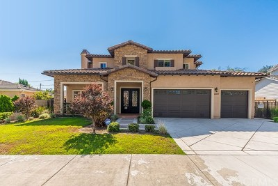 Temple City Single Family Home For Sale: 6047 Alessandro Avenue
