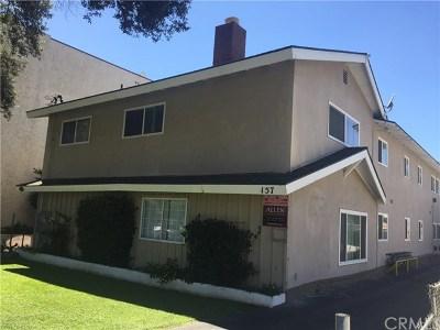 Pasadena Multi Family Home For Sale: 157 N Allen Avenue