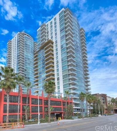 Long Beach Condo/Townhouse For Sale: 411 W Seaside Way #904