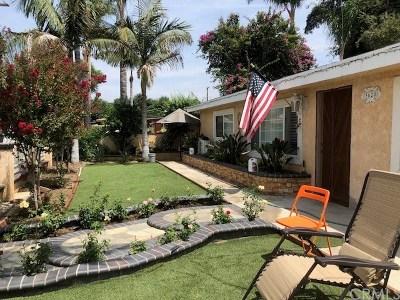 El Monte Single Family Home For Sale: 3620 Whiteflower Lane