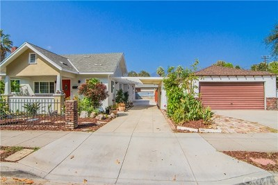 Monrovia Single Family Home Active Under Contract: 509 W Olive Avenue
