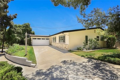 Pasadena Single Family Home For Sale: 1555 N Michillinda Avenue
