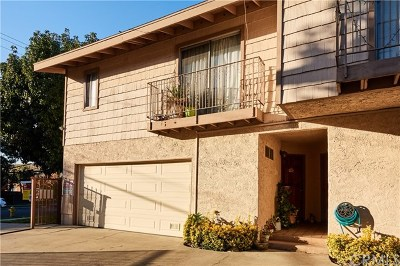 Monrovia Condo/Townhouse For Sale: 1220 S Alta Vista Ave #A