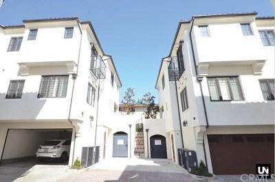 Arcadia Condo/Townhouse For Sale: 1058 Sunset Boulevard #A