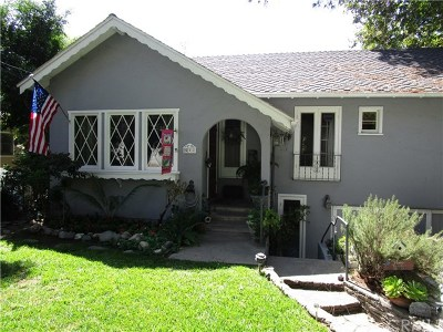 Monrovia Single Family Home For Sale: 538 Franklin Place