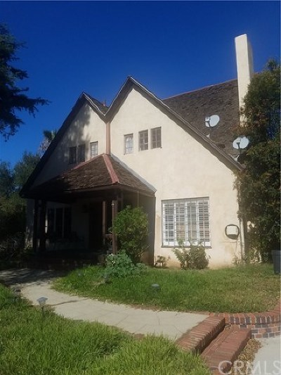 San Dimas Single Family Home For Sale: 819 N Walnut Avenue