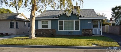 Temple City Single Family Home For Sale: 10656 Sparklett Street