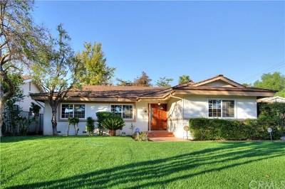 Arcadia Single Family Home For Sale: 51 W Birchcroft Street