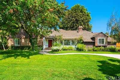Arcadia Single Family Home For Sale: 549 W Foothill Boulevard