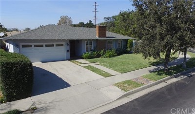 Pasadena Single Family Home For Sale: 2361 N Arroyo Boulevard