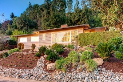 Monrovia Single Family Home For Sale: 107 W Scenic Drive