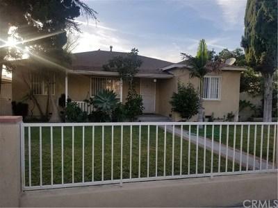Baldwin Park Single Family Home For Sale: 3745 Merced Avenue