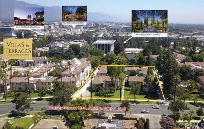 Pasadena Multi Family Home Active Under Contract: 164 S Orange Grove Boulevard