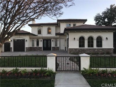 San Gabriel Single Family Home For Sale: 8808 Camino Real