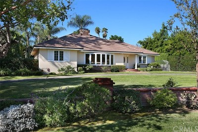 Arcadia Single Family Home For Sale: 1111 San Carlos Road