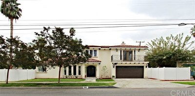 Arcadia Single Family Home For Sale: 846 E Longden Avenue
