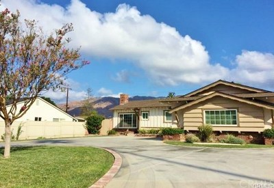 Glendora Multi Family Home For Sale: 943 E Foothill Boulevard
