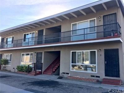 Long Beach Multi Family Home For Sale: 190 E Artesia Boulevard