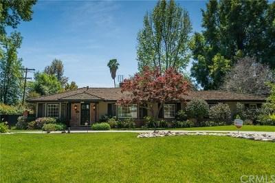 Arcadia Single Family Home For Sale: 820 Murietta Drive