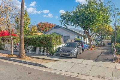 Pasadena Multi Family Home For Sale: 1806 Sierra Bonita
