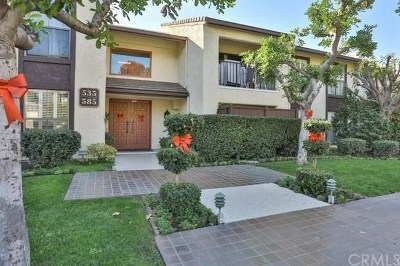 Arcadia Condo/Townhouse For Sale: 585 W Duarte Road #17A