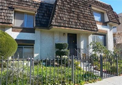 Monterey Park Condo/Townhouse For Sale: 228 N Nicholson Avenue #A