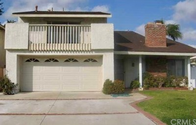 Irvine Single Family Home For Sale: 4131 Manzanita Street