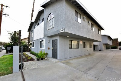 San Gabriel Multi Family Home Active Under Contract: 927 S Charlotte Avenue