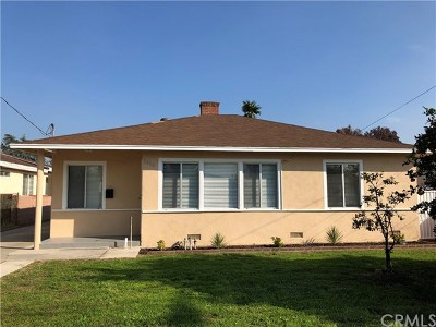 Temple City Single Family Home For Sale: 5470 Temple City Boulevard