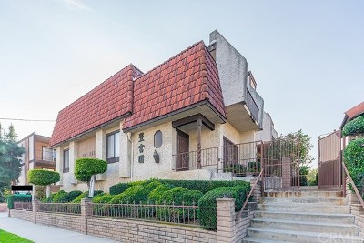 Monterey Park Condo/Townhouse For Sale: 439 Sefton Avenue #C