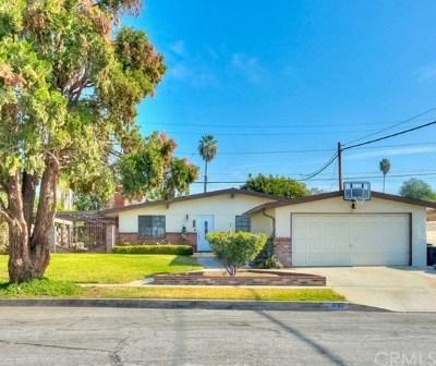 Glendora Single Family Home For Sale: 832 S Vecino Drive