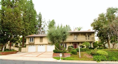 West Covina Single Family Home For Sale: 737 Quail Valley Lane