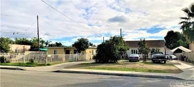El Monte Multi Family Home For Sale: 11414 Lambert Avenue