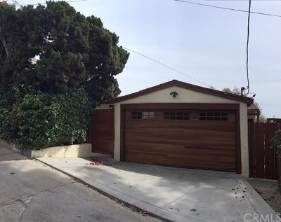 Los Feliz Single Family Home For Sale: 2366 Lyric Avenue
