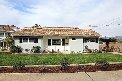 Redlands Single Family Home For Sale: 202 W Palm Avenue
