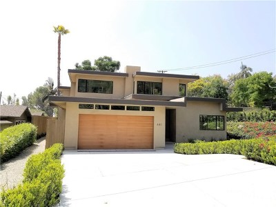 Sierra Madre Single Family Home For Sale: 481 Foothill Avenue