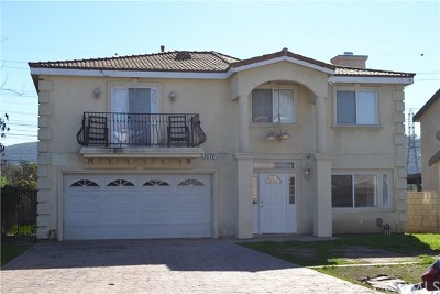 South El Monte Multi Family Home For Sale: 1668 Fruitvale Avenue