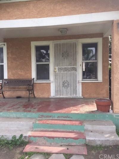 La Puente Single Family Home For Sale: 244 S Covina Boulevard