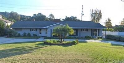 Arcadia Single Family Home For Sale: 1236 N Santa Anita Avenue