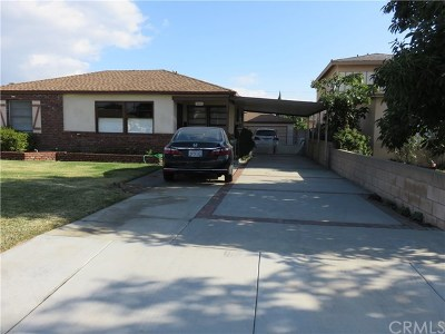 Temple City Single Family Home For Sale: 5230 Hallowell Avenue
