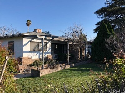 Rialto Single Family Home Active Under Contract: 775 N Sycamore Avenue N
