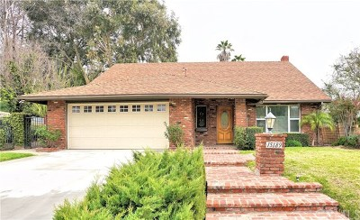 Chino Hills Single Family Home For Sale: 15189 Palisade Street